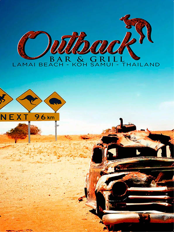 Outback Bar & Grill Menu