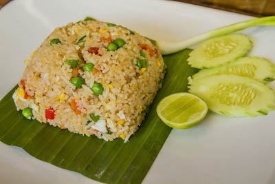 Thai fried rice samui